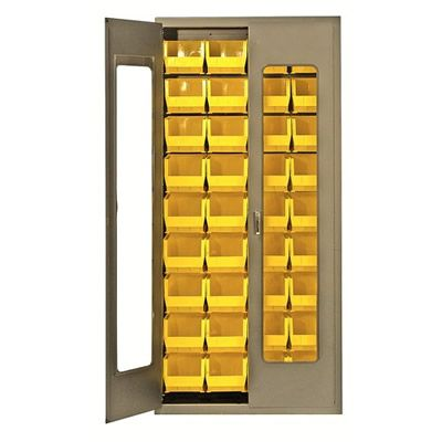 Storage Cabinets with Bins