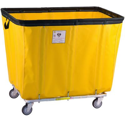 Anti-Microbial Vinyl Laundry Basket Truck