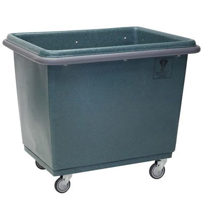Bumper Poly Laundry Basket Truck