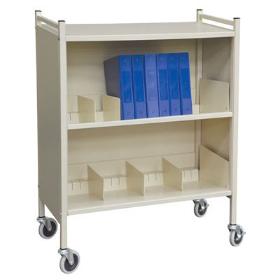 Combination File Folder & Binder Carts
