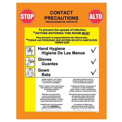 Infection Control Label