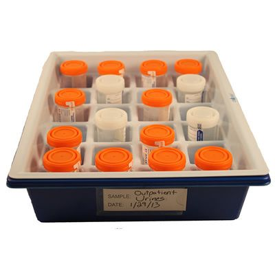 Urine Cup Collection Trays & Storage